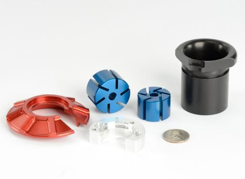 multi-axis machined components