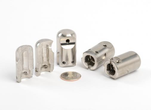 precision machined stainless components